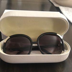 CHLOE Vintage Wide Frame Sunglasses